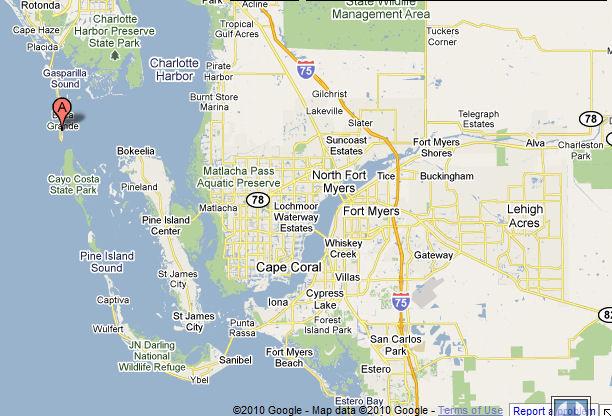 Cayo Costa Map