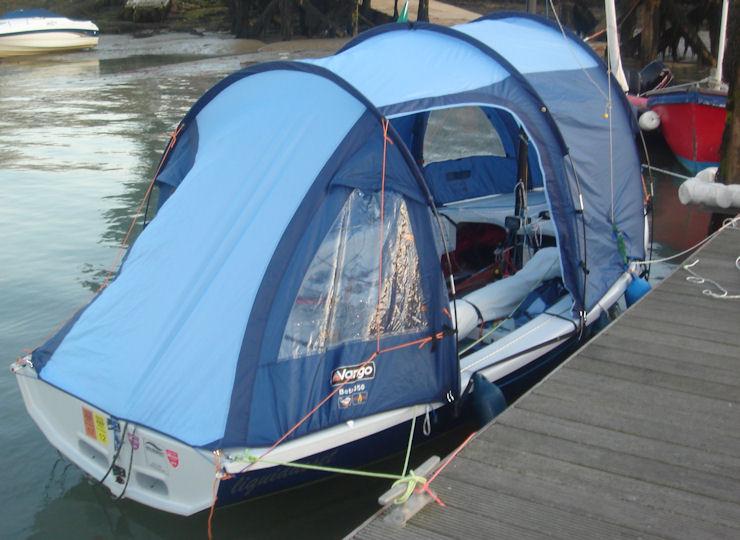 & Monica Schaeferu0027s boat tent for the MK IV