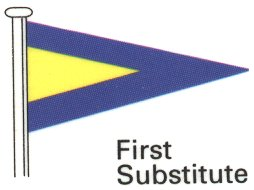Code Flag First Substitute
